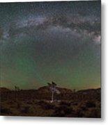 Joshua Tree Milky Way Panorama  Metal Print