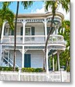 Key West Florida The Conch Republic Metal Print
