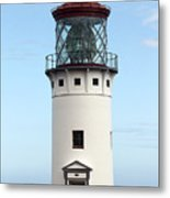Kilauea Lighthouse On Kauai Metal Print