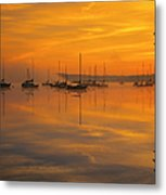 Lake Massabesic - Auburn New Hampshire Usa Metal Print