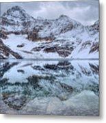 Lake Mcarthur Reflection Panoramic Metal Print