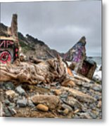 Lands End Metal Print