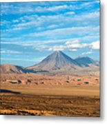 Licancabur Volcano View Metal Print
