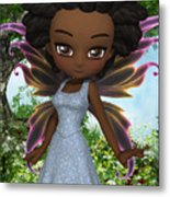 Lil Fairy Princess Metal Print