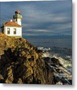 Lime Kiln Lighthouse Metal Print