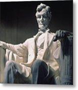Lincoln Memorial: Statue Metal Print