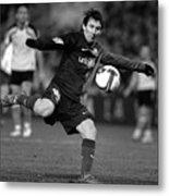 Lionel Messi 2 Metal Print
