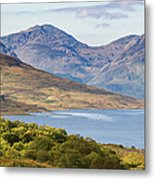 Loch Arklet And The Arrochar Alps Metal Print