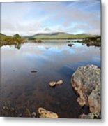 Loch Nah Achlaise Metal Print