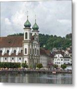 Lucerne Switzerland Metal Print