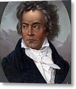 Ludwig Van Beethoven, German Composer Metal Print