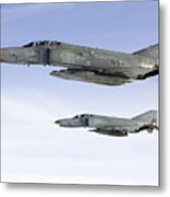 Luftwaffe F-4f Phantom II Metal Print