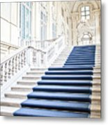 Luxury Interior In Palazzo Madama, Turin, Italy Metal Print