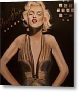 Marilyn Monroe  Metal Print by Mikayla Ziegler