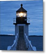 Marshall Point Light Metal Print