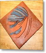 Mask - Tile Metal Print