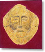 Mask Of Agamemnon Metal Print