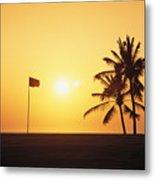 Mauna Kea Beach Resort Metal Print by Carl Shaneff - Printscapes