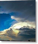 May Nebraska Storm Cells Metal Print