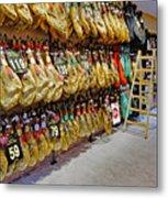 Meat Market In Palma Majorca Spain Metal Print