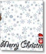 Christmas Card 8 Metal Print