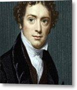 Michael Faraday, British Physicist Metal Print by Sheila Terry