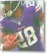 Minnesota Vikings Adrian Peterson Metal Print