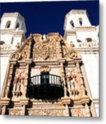 Mission San Xavier Del Bac Tohono O Odham Indian Reservation Metal Print