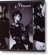 Miyavi Metal Print