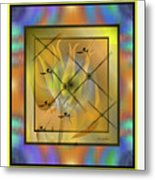 Modern Colours Metal Print