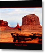 Monument Valley II Metal Print