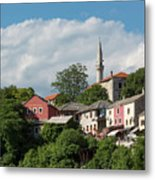 Mostar, Bosnia And Herzegovina Metal Print
