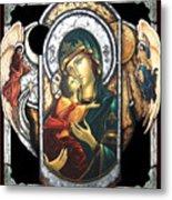 Mother Of God Metal Print by Iosif Ioan Chezan
