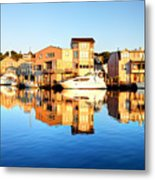 Mystic Seaport Connecticut Metal Print