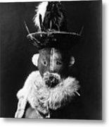 Navajo Mask, C1905 Metal Print by Granger