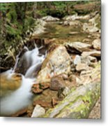 New England Waterfall Metal Print