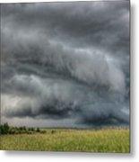 North Dakota Thunderstorm Metal Print