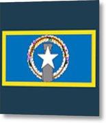 Northern Marianas Flag Metal Print