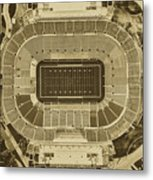 Notre Dame Stadium Metal Print