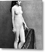 Nude Posing, C1885 Metal Print