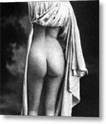 Nude Posing: Rear View Metal Print