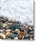 Ocean Stones Metal Print