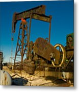 Oil Rig  Metal Print