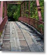 Old Alton Bridge  Metal Print