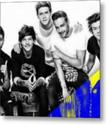 One Direction Collection Metal Print