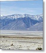 Owens Dry Lake Metal Print
