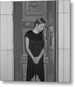 Closing The Doorway To The Past Metal Print