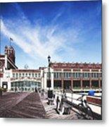 Paramount Theatre - Asbury Park Boardwalk Metal Print