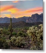 Pastel Desert Skies  Metal Print