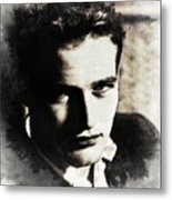 Paul Newman, Actor Metal Print